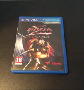 PS Vita Ninja Gaiden Sigma Plus