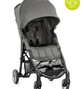 Baby Jogger City Mini Zip Steel Gray + бампер