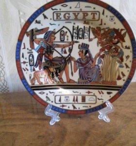 "Тарелка сувенирная ""Египет"""
