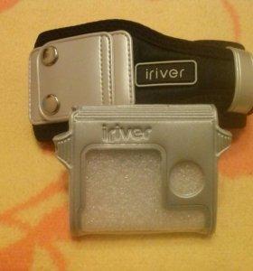 Чехол на руку+просто чехол iriver IFP900