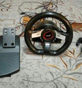 Руль и педали SpeedWheel 5 Pro
