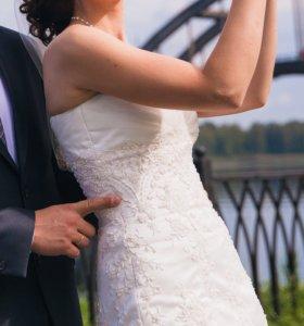 Свадебное платье от дизайнера Романовой Натальи