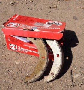 Колодки тормозные барабанные стояночного тормоза