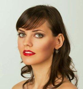 Модель на макияж