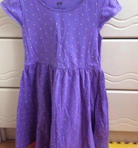 Платье НМ на 4-6 лет