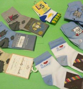 Детские носочки для мальчика,14-16