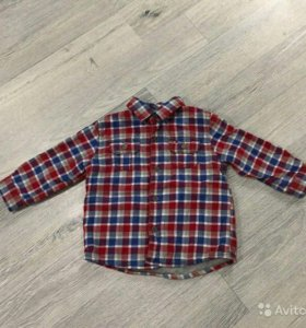 Рубашка утепленная Tommy Hilfiger р.80