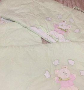 Бортик на детскую кровать