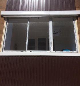 Рама с окнами
