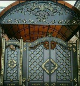 Навесы , ворота