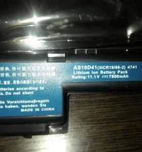 Аккумуляторная батарея для ноутбука Acer Aspire V3