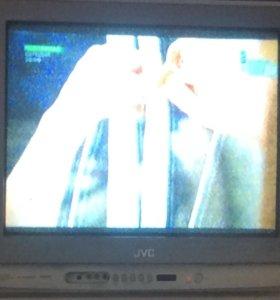 Телевизор JVC + DVD JVC