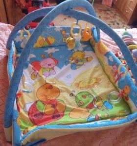 Развивающий коврик для детей.