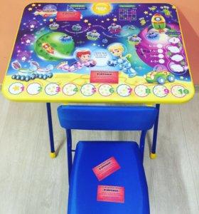Новый складному стол+стул Ника