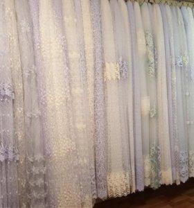 Шторы, тюль , ткани для домашнего интерера