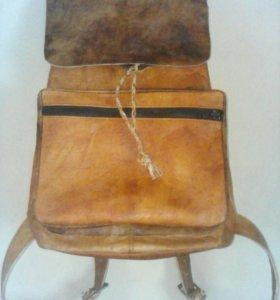 Кожаный рюкзак,шьем на заказ,торг