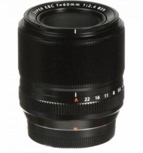 fujifilm xf 60mm f/2.4 r macro. Новый рст два года