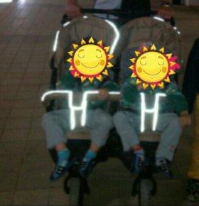 Прогулочная коляска для двойни