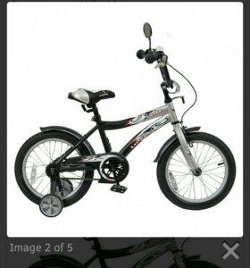 Велосипед с трех до семи лет.