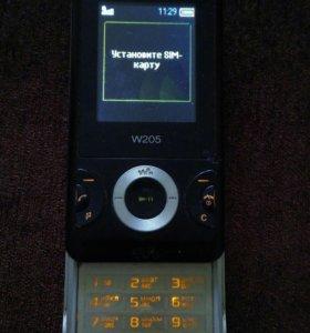 Телефон Sony Ericsson W205