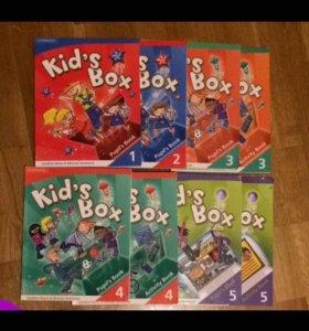 Kid's box 1,2,3,4,5