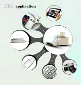 Micro USB OTG к USB Адаптер