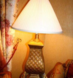 Лампа настольная, США