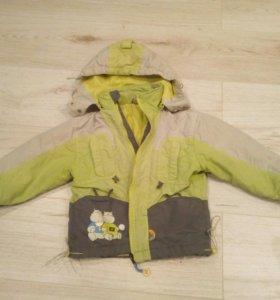 Курточка весенняя на мальчика