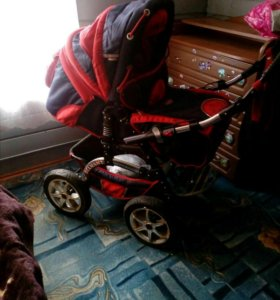 Продам детскую коляску трансформер 3в1