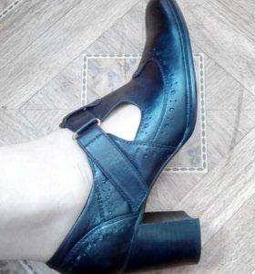 Туфли женские (кожа) р.38