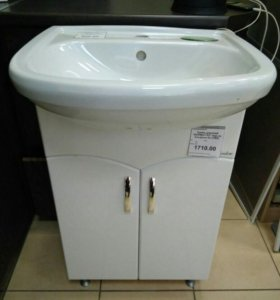 Тумбочка с раковиной для ванной