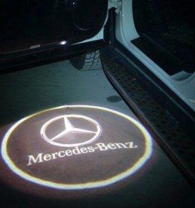 Проектор логотипа Mercedes/Audi/Bmw/Honda/Lada/...