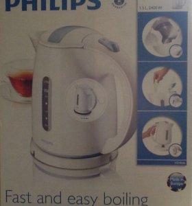 Чайник новый PHILIPS HD4646/00