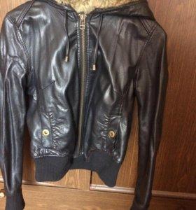 Куртка кожзам б 42