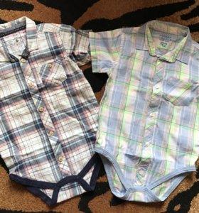 Боди-рубашки для мальчика