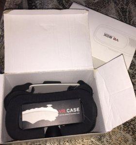 VR BOX очки виртуальной реальности.