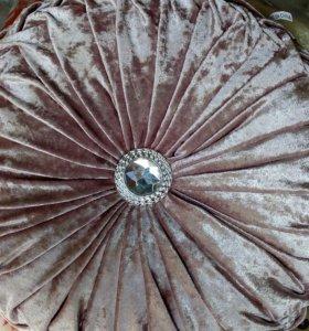 Подушка велюровые