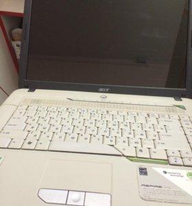 Ноутбук Acer aspire 5715z