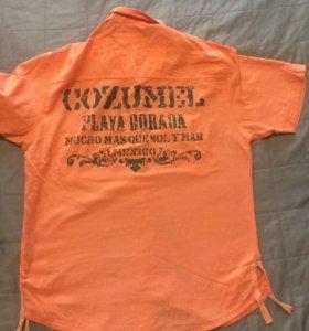 Мужская рубашка р 46