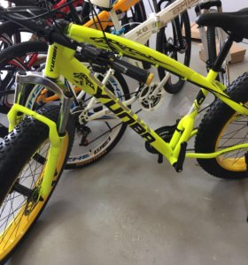 Велосипед фэтбайк yunbo