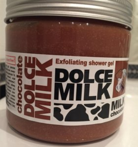Гель-скраб для душа Dolce milk