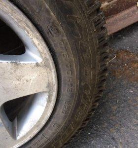 Комплект зимних колес (литые диски+зимние шины)