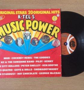 K-Tel's Music Power. Сборник.