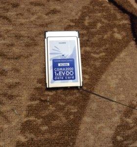 PCMCIA модем Скайлинк Huawei ec500