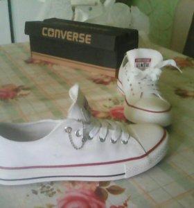 Женские, стильные,модные кеды Converse