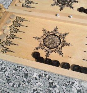 Нарды и шахматы в одном наборе