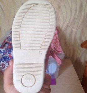 Туфельки для девочки Гарвалин