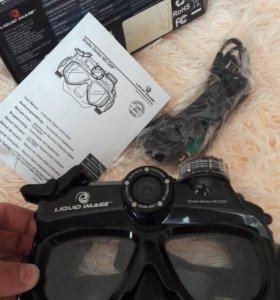 Цифровая камера-маска для подводной съёмки
