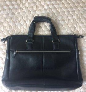 Кожаная сумка Vitacci