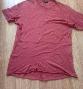 Стильная удлинённая футболка